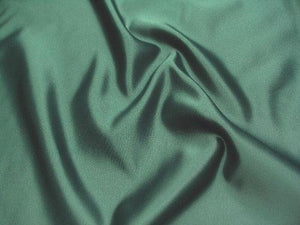 Dull Bridal Satin/Lamour Satin (peau de soie) HUNTER GREEN