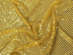 "Small Confetti Dot Sequins 1/8"" YELLOW/GOLD"