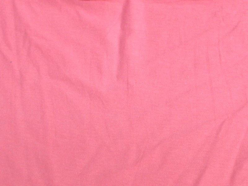 7 Ounce Cotton Jersey Spandex Knit HOT PINK