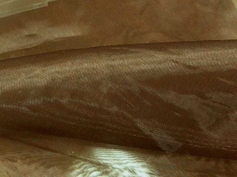 Mirror Organza Brown