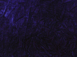 Upholstery Crushed Velvet Dark Plum