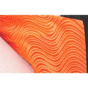 Upholstery Swirl Velvet Orange