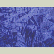 Crushed Non-Stretch Velvet ROYAL BLUE