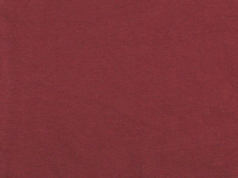 7 Ounce Cotton Jersey Spandex Knit BURGUNDY