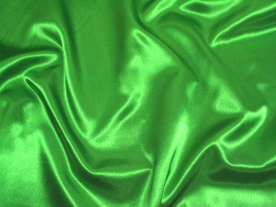 Bridal Satin KELLY GREEN