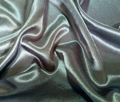 Crepe Back Satin Dark Gray