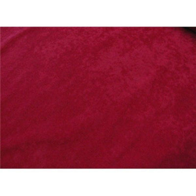 Alova Suede Cloth Red