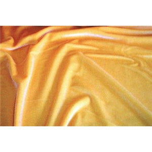 Plush Spandex Velvet YELLOW