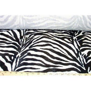 Velboa Large Black White Zebra Prints