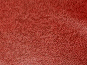 Upholstery Faux Leather Dark Red