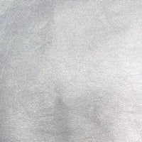Upholstery Metallic Faux Leather Silver