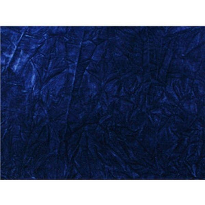 Upholstery Crushed Velvet Dark Royal