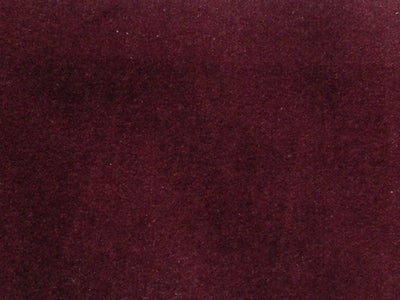 100% Cotton Med Weight Velvet WINE