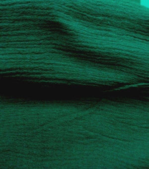 Gauze 100% Cotton HUNTER GREEN