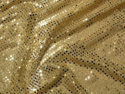 "Small Confetti Dot Sequins 1/8"" DARK GOLD"