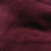 Gauze 100% Cotton BURGUNDY