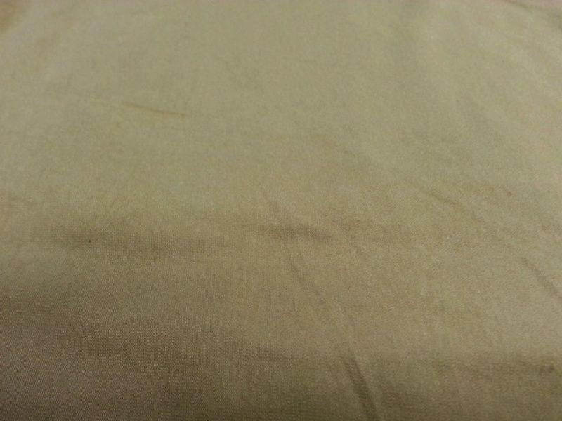 10 Ounce Cotton Jersey Spandex Knit KHAKI SAFARI