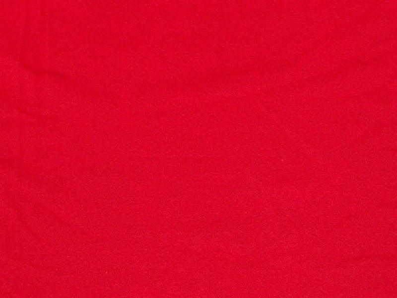 7 Ounce Cotton Jersey Spandex Knit RED