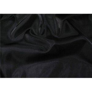Two Tone Dress Taffeta Black