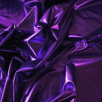 Metallic Spandex Purple
