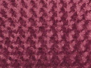 Rose Bud Fur BURGUNDY