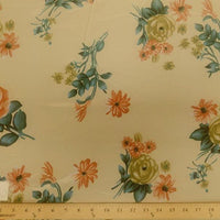 Koshibo Prints Beige Peach Rose KO-6