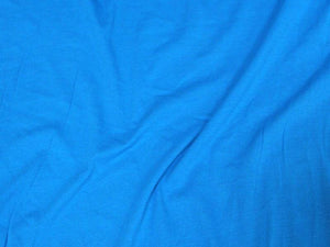 10 Ounce Cotton Jersey Spandex Knit TURQUOISE