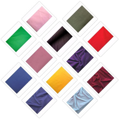 SWATCHES 100% Cotton Med/Light Weight Velvet