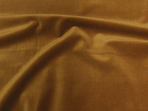 100% Cotton Med Weight Velvet CARAMEL