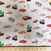 Ivory Sushi Cotton Prints