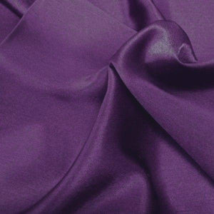 "China Faux Silk Habotai 58"" Wide Purple HB-11"