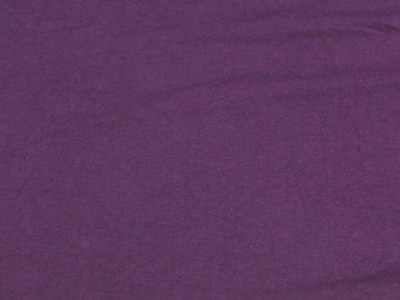 7 Ounce Cotton Jersey Spandex Knit PLUM