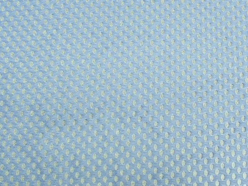 XL Football Jersey Mesh Sky Blue