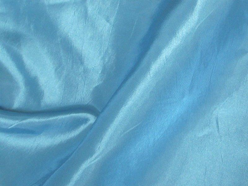 Two Tone Dress Taffeta Angel Blue