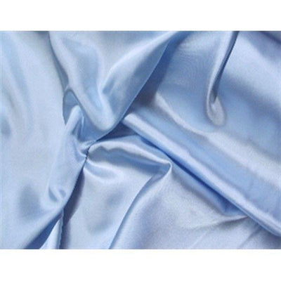 Charmeuse Silky Satin 58 Inch Width BABY BLUE