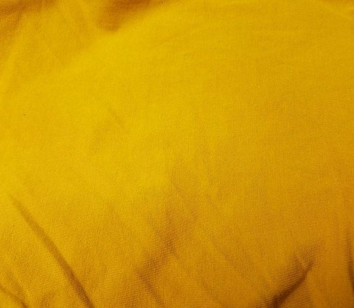 10 Ounce Cotton Jersey Spandex Knit MUSTARD