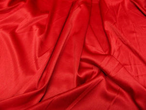 Stretch Heavy Weight Lamour Dull Satin RED SLS-9