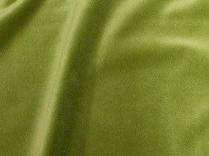 100% Cotton Med Weight Velvet LIME GREEN