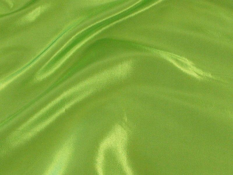 Two Tone Dress Taffeta Lime Green