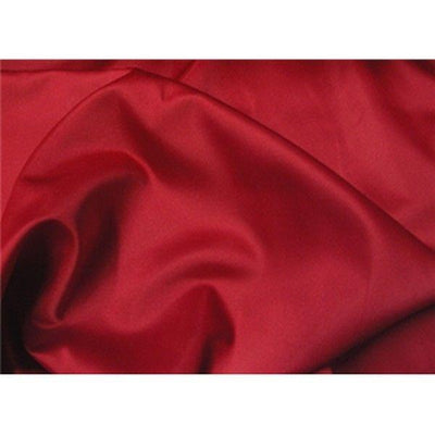 Dull Bridal Satin/Lamour Satin (peau de soie) RED