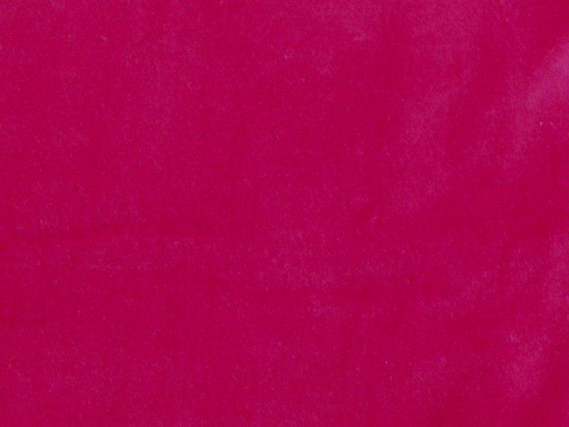 100% Cotton Med/Light Weight Velvet FUCHSIA