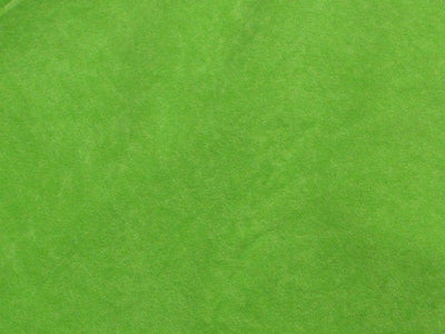 Alova Suede Cloth Lime Green