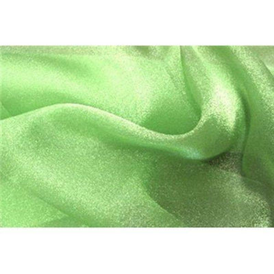 Crystal Organza Apple Green