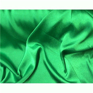 Stretch Charmeuse Satin Emerald