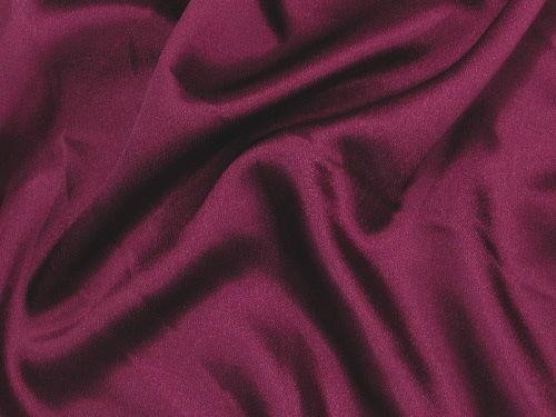 Crepe Back Satin Dark Burgundy