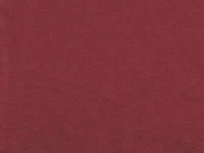 10 Ounce Cotton Jersey Spandex Knit BURGUNDY