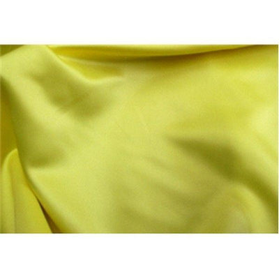 Dull Bridal Satin/Lamour Satin (peau de soie) YELLOW