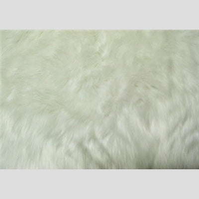 Long Pile Shaggy Fur WHITE