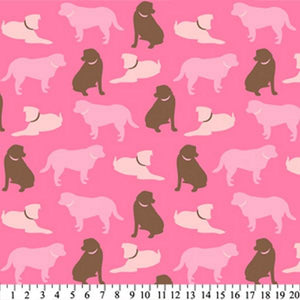 Anti-Pill Solid Dogs Pink Brown Fleece 587