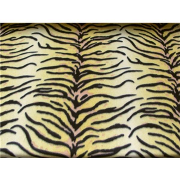 Tiger Stripes Yellow Fleece 590